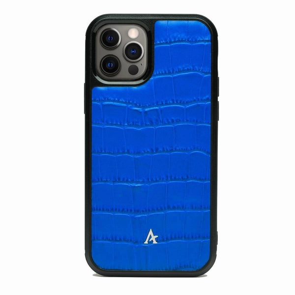 Leather Ultra Protect iPhone 12 Pro Max Case (Croc)