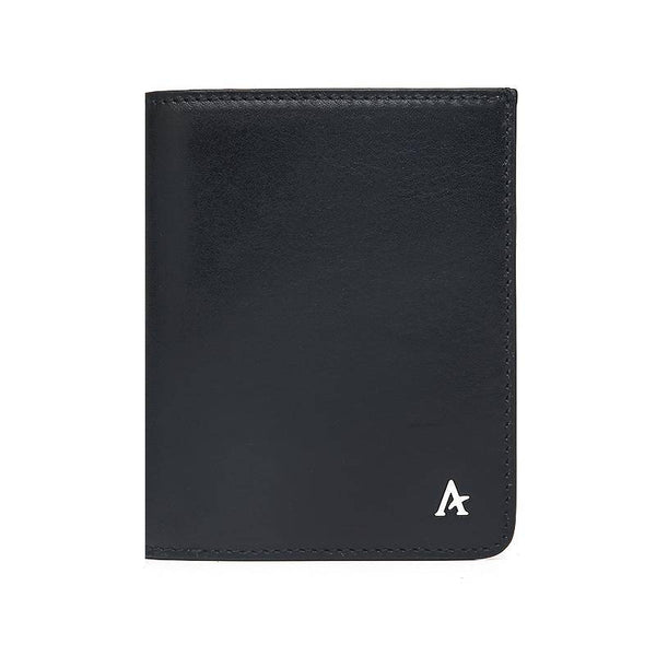 Leather Portfolio Bi-Fold Wallet (Natural)