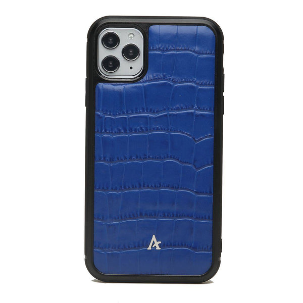 Leather Ultra Protect iPhone 11 Pro Case (Croc) - Affluent