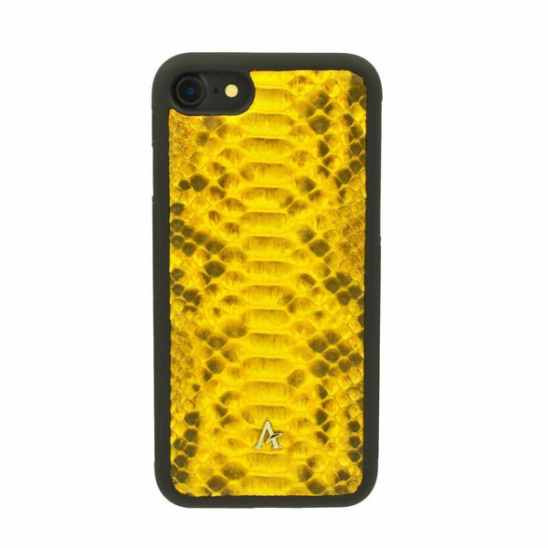 Python Leather iPhone 8/7 Case - Affluent