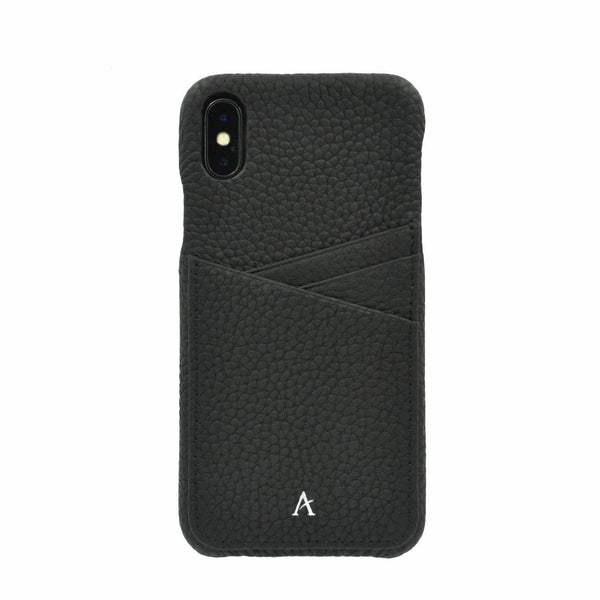Leather Card Slot iPhone XS Max Case