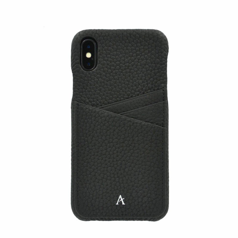 Leather Card Slot iPhone XS Max Case - Affluent