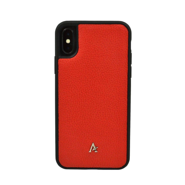 Leather Ultra Protect iPhone XS/X Case - Affluent