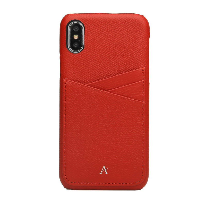 Leather Card Slot iPhone X/Xs Case - Affluent