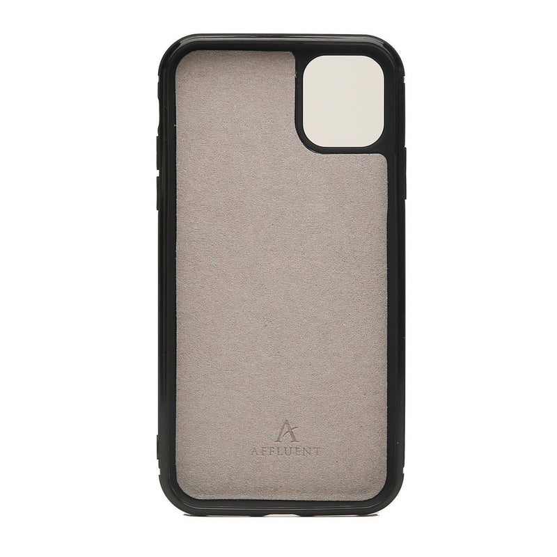 Leather Ultra Protect iPhone 11 Pro Max Case (Croc) - Affluent