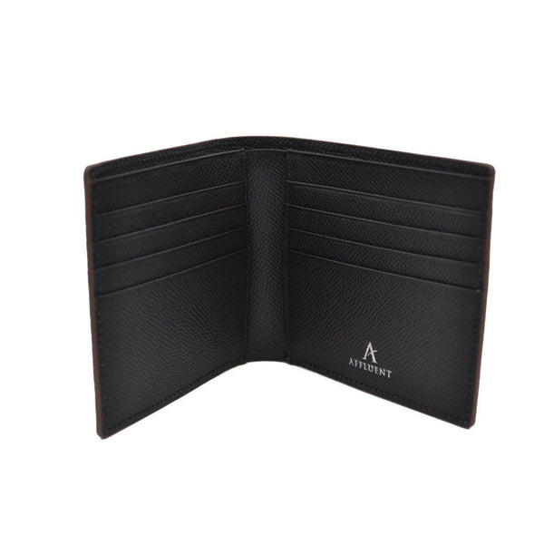 Classic Leather Bi-Fold Wallet - Affluent