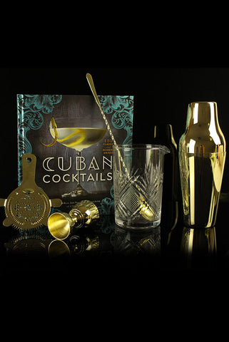 Cuban Cocktails Gold Kit