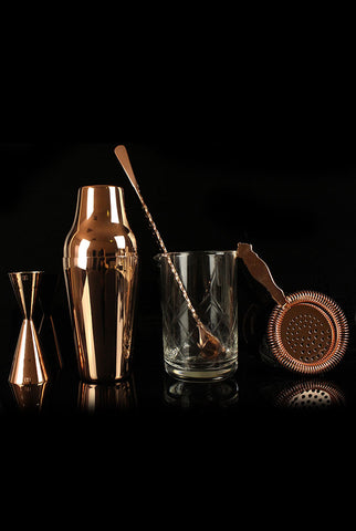 Vintage Copper Cocktail Kit
