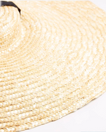 Resort Straw Statement Panama - Natural Straw - Large