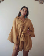 Ora Lounge Set - Mustard