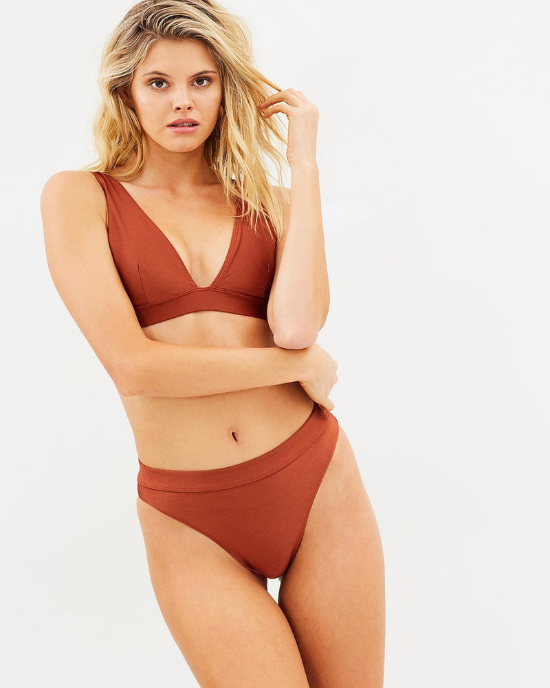 Luxe Wanderer Top - Bronze