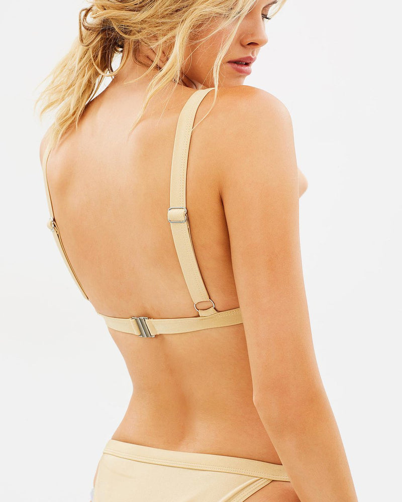 Luxe Essential Top - Bisque