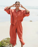 Zelta Long Pant - Orange