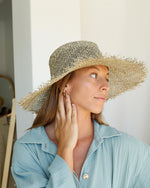 Straw Panama Hat - Natural
