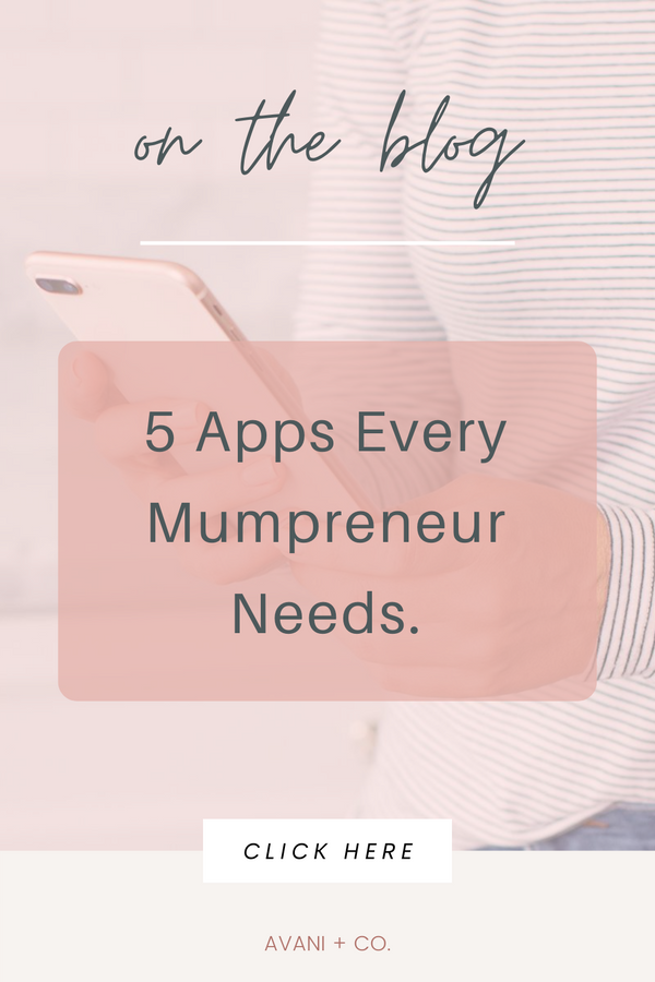 5 apps every work-from-home mum needs