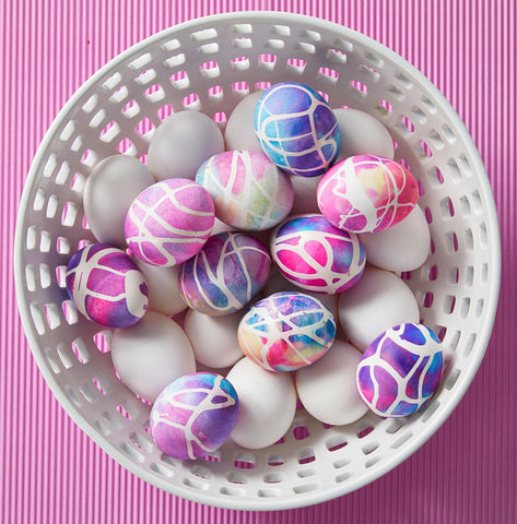 easter egg dyeing ideas.