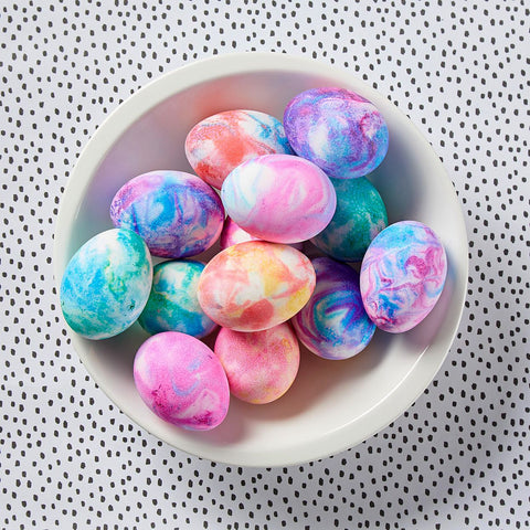 dyed easter eggs avani and co easter craft