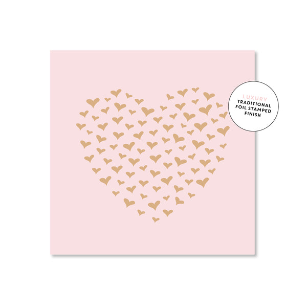 Mini Gift Card - Heart Of Hearts