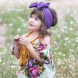 BLONDES IN BOWS Headwrap - Lavender