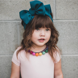 BLONDES IN BOWS Headwrap - Teal (PRE ORDER)