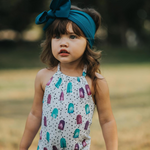 BLONDES IN BOWS Headwrap - Teal