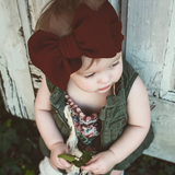 BLONDES IN BOWS Headwrap - Scarlet (IN STOCK)