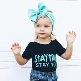 BLONDES IN BOWS Headwrap - Mint (PRE ORDER)
