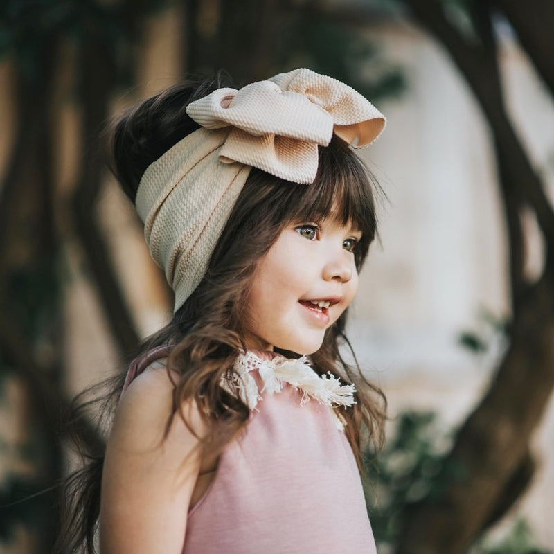 BLONDES IN BOWS Headwrap - Fawn (PRE ORDER)