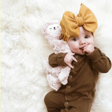 BLONDES IN BOWS Headwrap - Honey