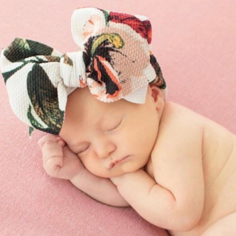 BLONDES IN BOWS Headwrap - French Floral (IN STOCK)