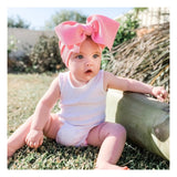 BLONDES IN BOWS Headwrap - Bubblegum
