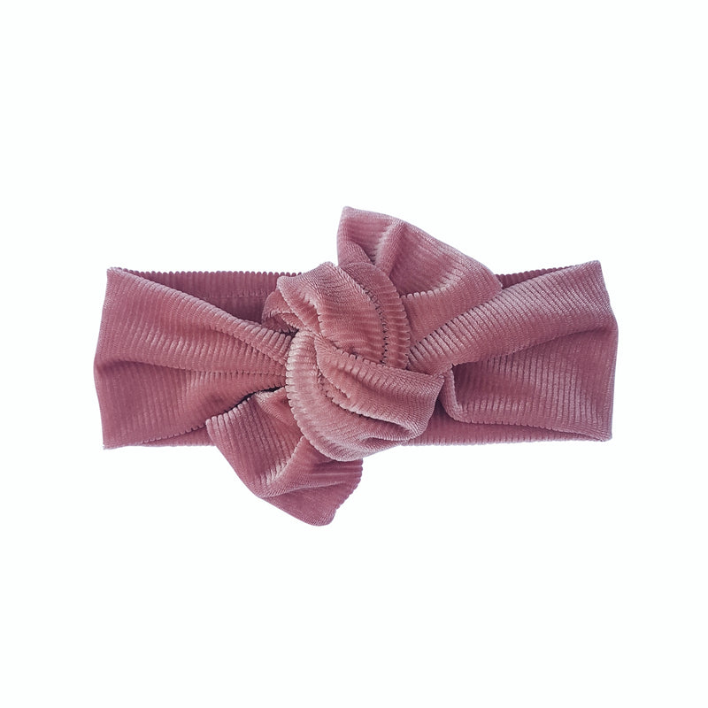 Knot bow headwrap - Musk cord