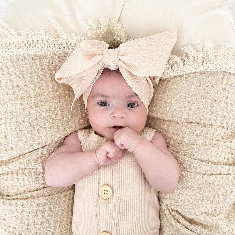 BLONDES IN BOWS Headwrap - Fawn (IN STOCK)
