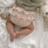 RUFFLE BLOOMERS - BLOSSOM LILY PINK (PRE ORDER)