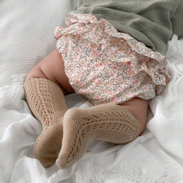 RUFFLE BLOOMERS - BLOSSOM LILY PINK