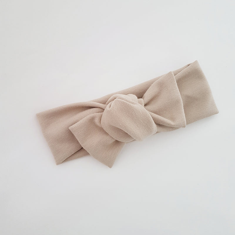 Headwrap - Light Taupe
