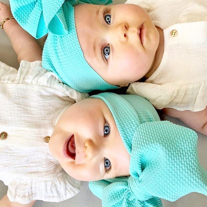 BLONDES IN BOWS Headwrap - Mint (IN STOCK)