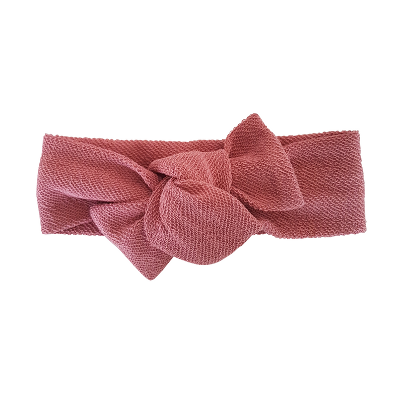Headwrap - Textured Rose Pink