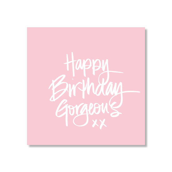 Mini Gift Card - Gorgeous Birthday
