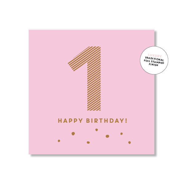 Mini Gift Card - No. 1 Pink