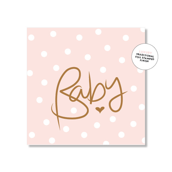 Mini Gift Card - Polkadot Pink