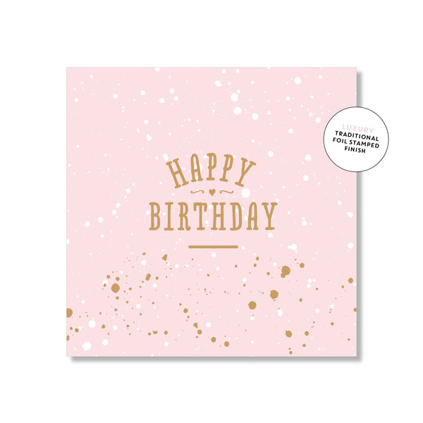 Mini Gift Card - Pretty Pink Birthday