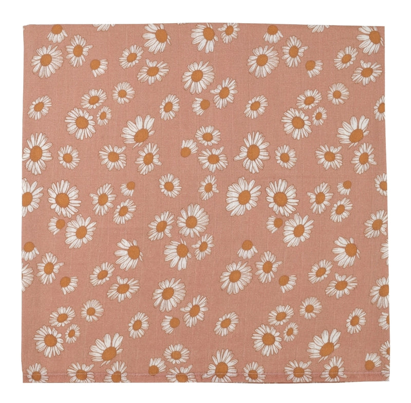 SWADDLE DAISY BLUSH PINK
