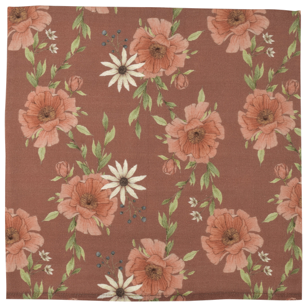 SWADDLE PEONY BLOOMS CLAY