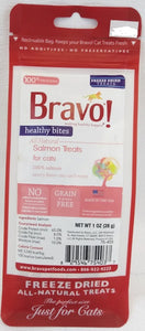 Bravo Freeze-Dried Healthy Bites Salmon Treat