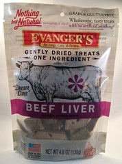 Evanger's Nothing But Natural Beef Liver Treat