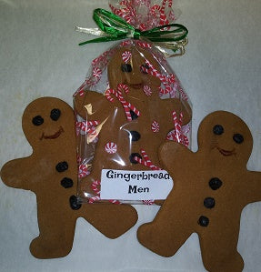 Gingerbread Men - NOT AVAILABLE TILL CHRISTMAS TIME - CALL 702-443-5158 for custom order