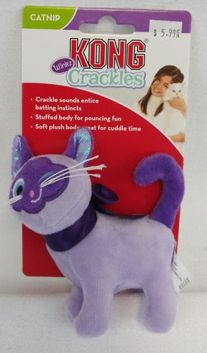 Kong Crackles Kitty Catnip toy