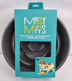 Messy Mutts Slow Feeder Bowl Grey