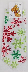 Bandana -  Multi-colored snowflake